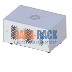 """Tủ mạng , Tủ Rack 6U-D400 Wallmount – Dana Rack 6U400 - Mã sản phẩm: DANA RACK 6U - D400 - Kích thước thực: (HxWxD) H320xW560xD600mm - Kiểu dáng:Treo tường - Hệ thống cửa: Lưới - Phụ kiện: 1 x Fan 220v; Ổ điện 03 chấu chuẩn Đa dụng. - Màu sắc: Ghi -Tiêu chuẩn : Tương thích các thiết bị tiêu chuẩn 19"""" EIA-310D"""