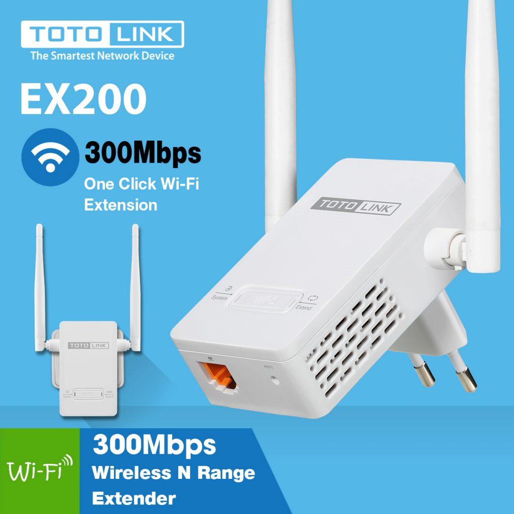 Thiết bị mở rộng sóng wifi Totolink EX200 tại Đà Nẵng giá rẻ