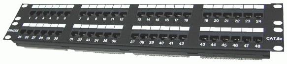 p_1319_Patch-panel-48-port-CAT5E-DINTEK